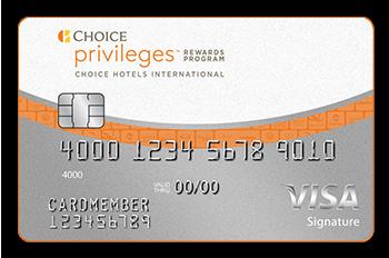 The Choice Privileges Visa Signature Card1
